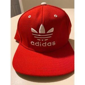 Brand New Red & White Adidas Snapback